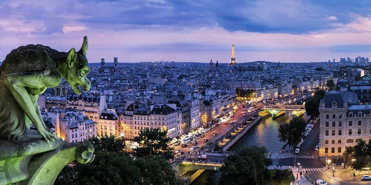 Top cities in Europe